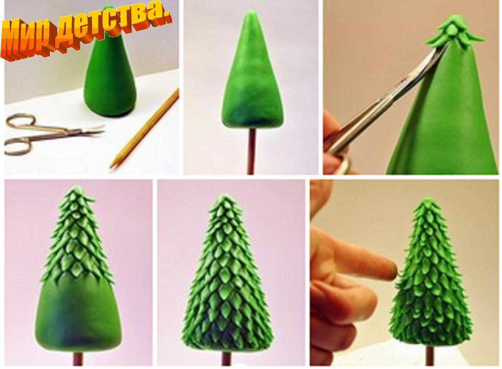 Украшения для новогодней елки своими руками средняя группа
