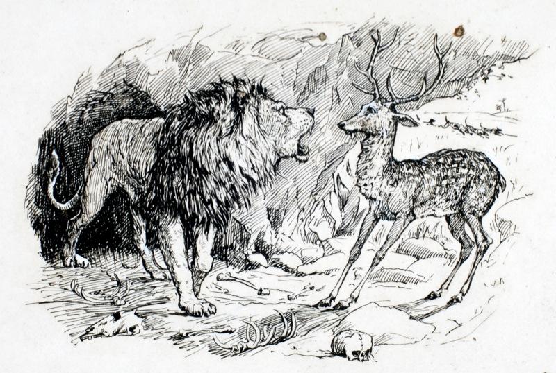 Олень и Лев