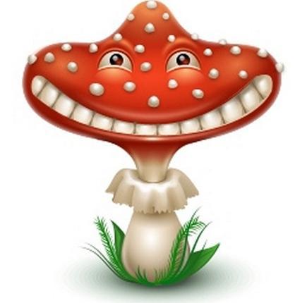 грибы басня