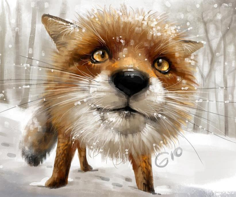 Загадки про лису
