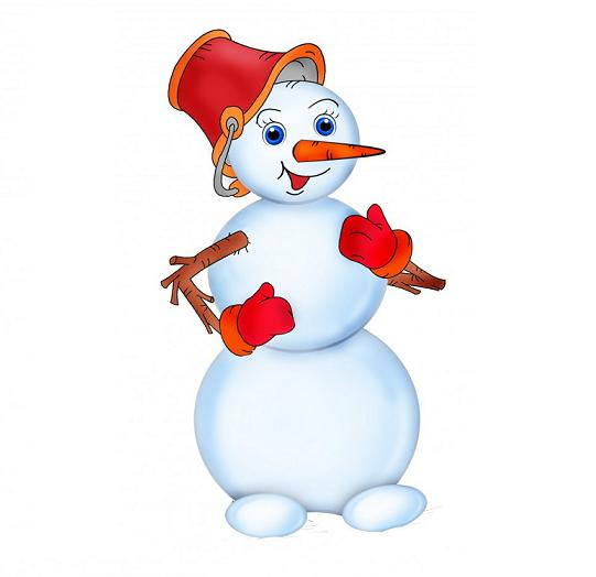 Загадки про снеговика