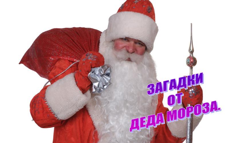 Загадки от Деда Мороза