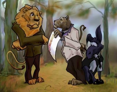 Лев и Барс