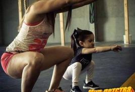 Тренировка для ребёнка и родителей.