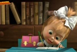 Как научить малыша писать.